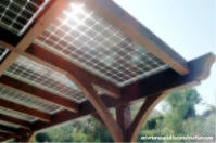 Integrated Solar Patio Cover